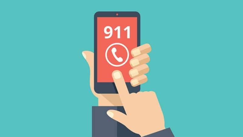 Celular, número 911