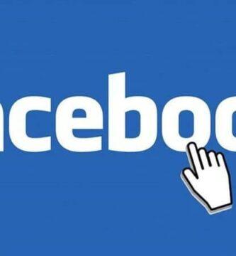Fundo branco azul do logotipo do Facebook