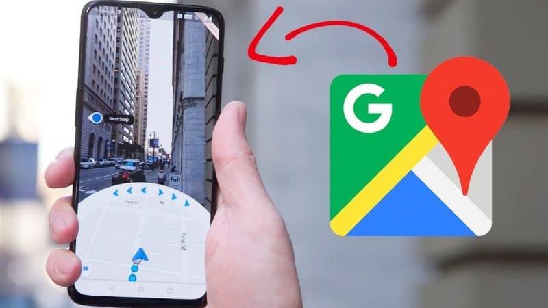 Google Maps em um telefone Android