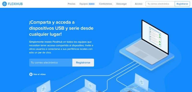 Pagina Web FlexiHub