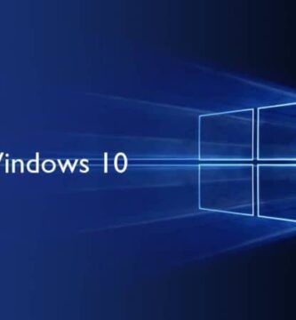 Flash do logotipo do Windows 10 em fundo escuro da janela