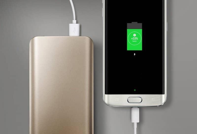 carregador portátil de bateria para celular android
