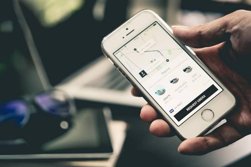 usar o app uber