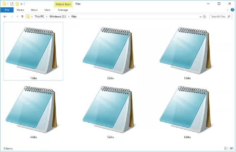 arquivos de texto de notas de blog