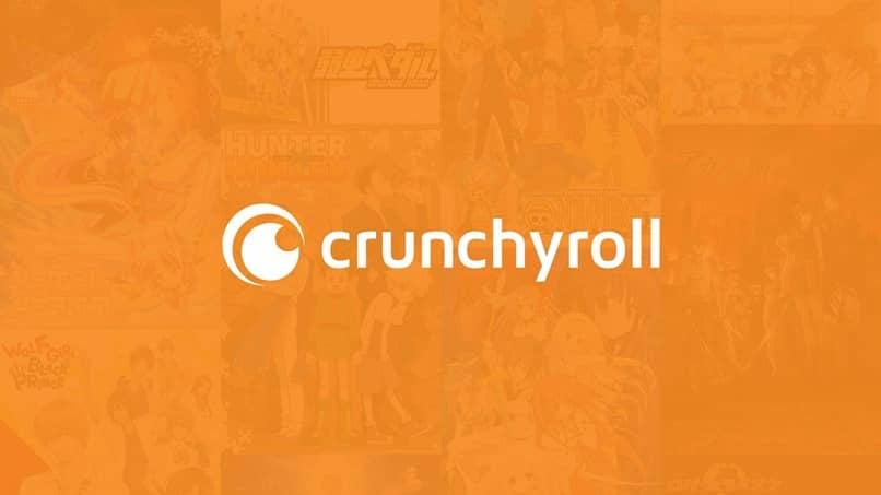 fundo laranja crunchyroll
