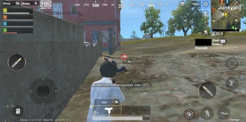 atirando no pubg