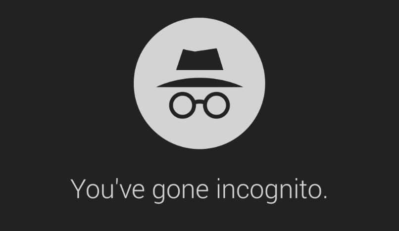 você está no modo anônimo