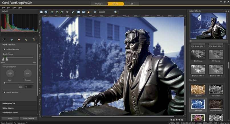 editar estátua de homem