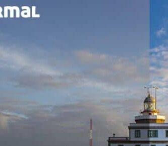 comparação entre uma foto normal e HDR