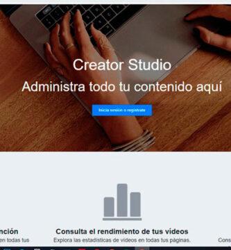 Creator Studio no Facebook