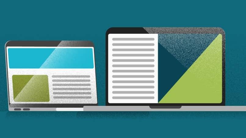 laptops de apresentação