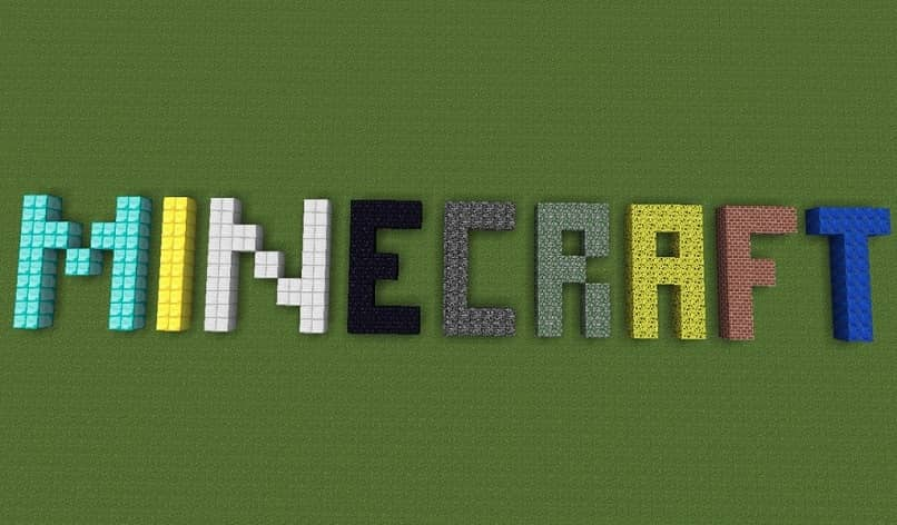 logotipos minecraft color block
