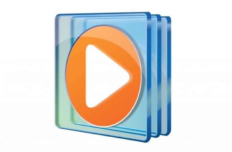 Priorità bassa di bianco del logo di Windows Media Player