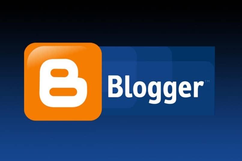 logotipo azul do blogger