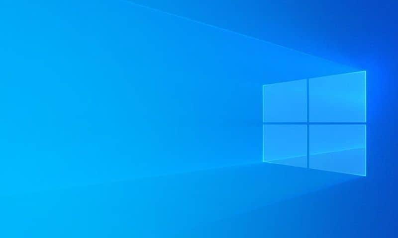 Windows logo sfondo blu per pc
