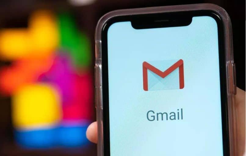 mobile finger logo gmail