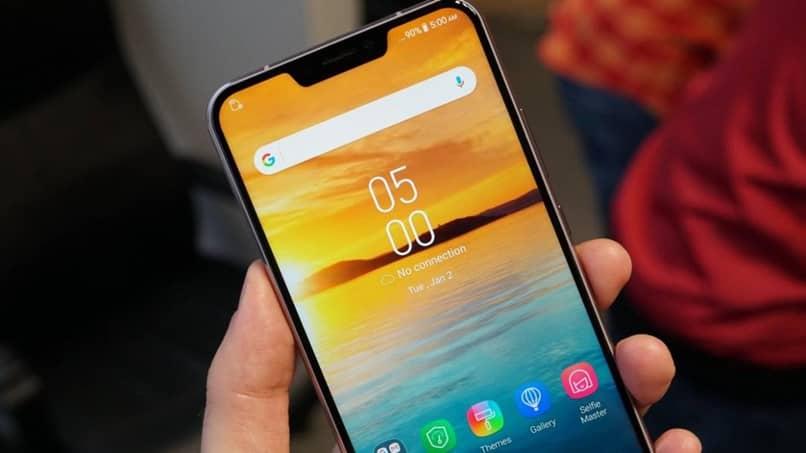 tela paisagem android