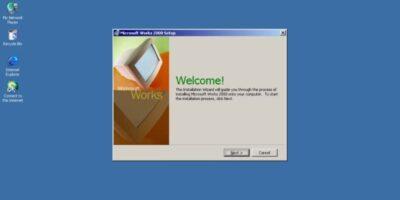 pantalla de escritorio de windows con ventana abierta