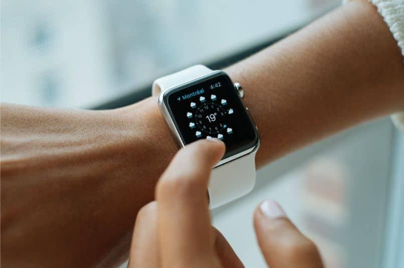 relógio de dedo de mão