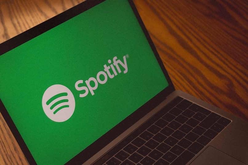 spotify laptop