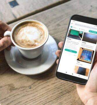 aplicativo móvel café wallapop