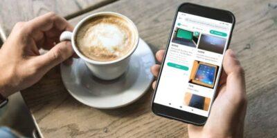 app mobile caffè wallapop