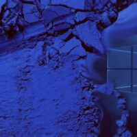 janela azul do windows