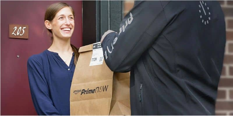 Entrega Amazon Prime