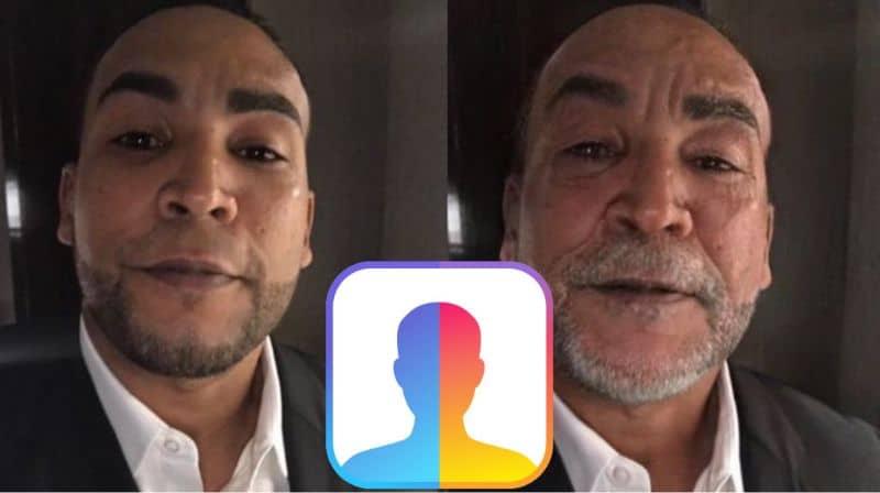 FaceApp Don Omar