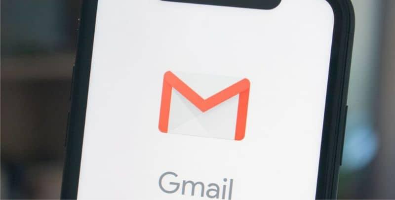 Logo Gmail pantalla android