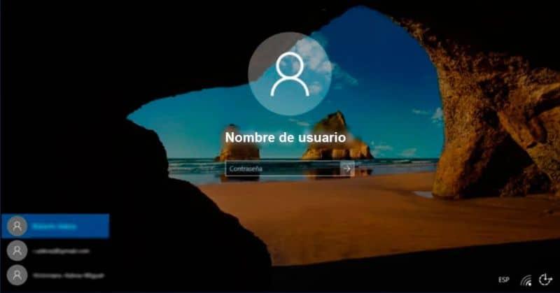 Nome de usuário Windows 10