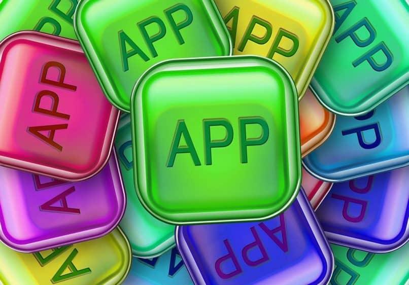caixa de aplicativo