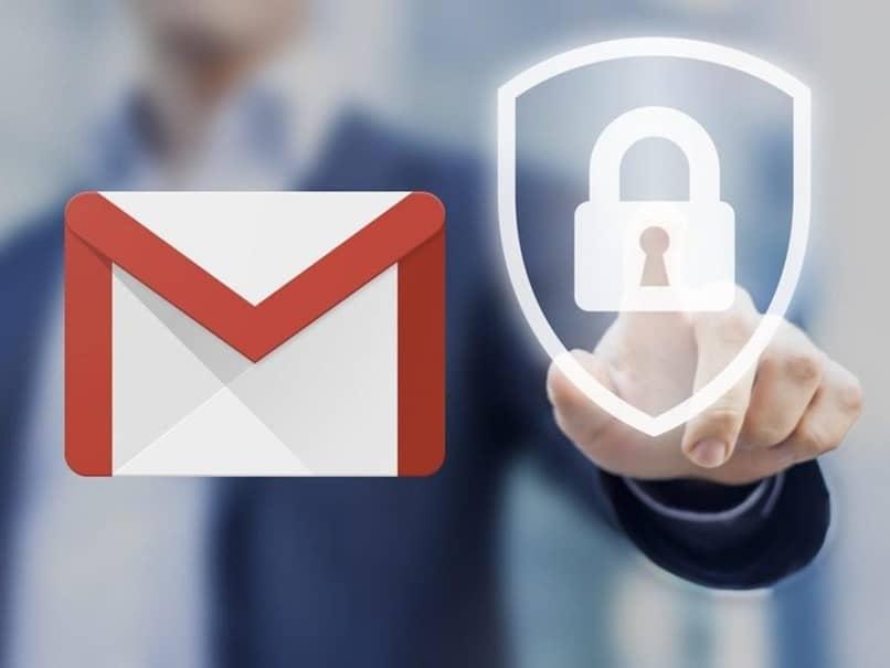 homem cadeado gmail