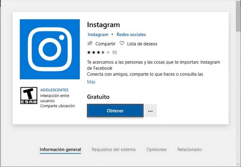 descargar app instagram