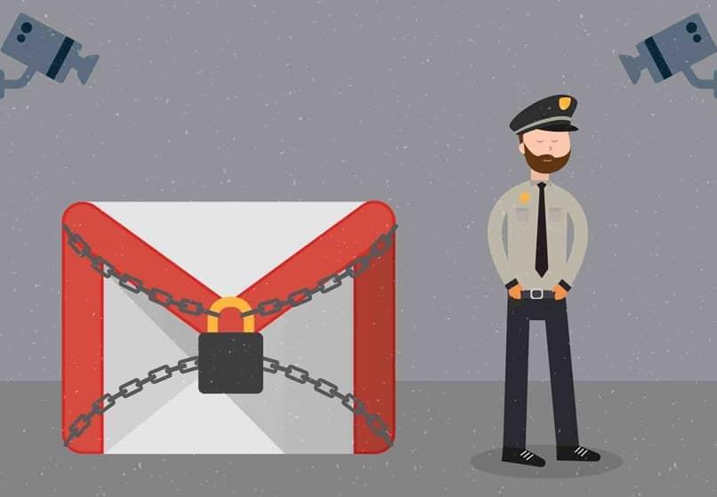 cadeias de gmail da polícia