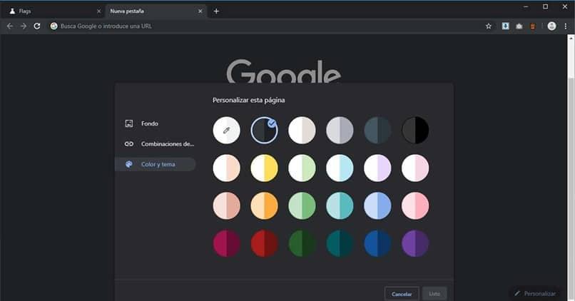 círculos coloridos google