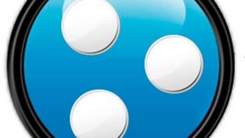 ícone hamachi azul