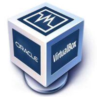ícone de caixa virtual azul