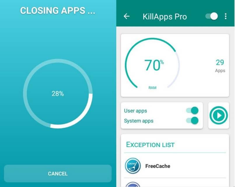 aplicativo killapps