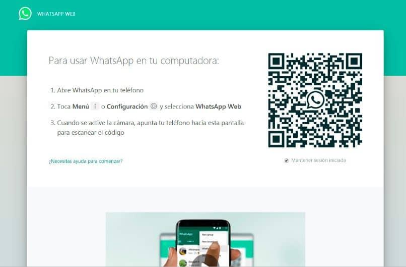 aplicativo de código qr do logotipo do whatsapp finger mobile