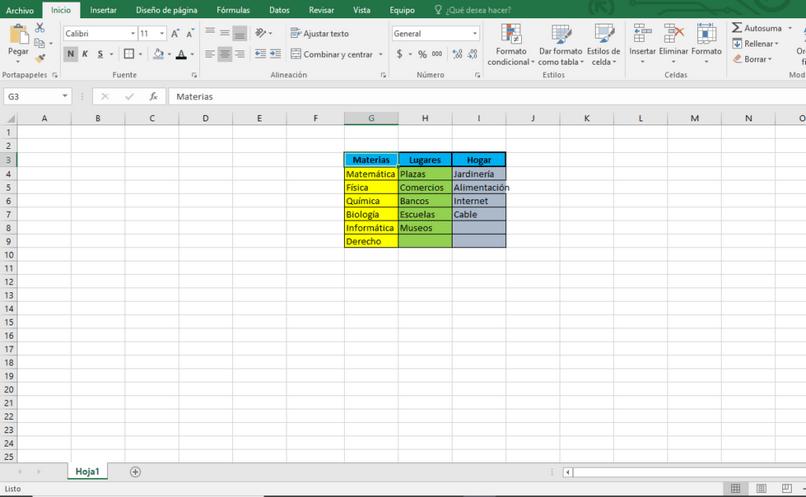 adicionar listas de dados do Excel