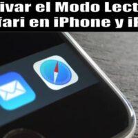 Ative o modo de leitura Safari no iPhone e iPad