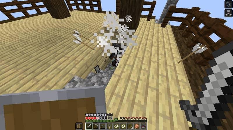 Evite o efeito de mau presságio no Minecraft