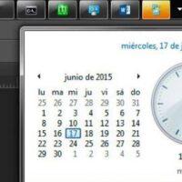 Relógio e calendário do Windows