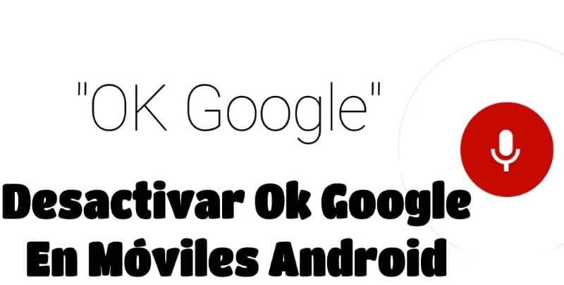 Desativar OK Google em telefones Android