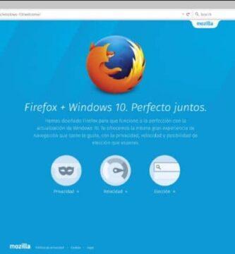 Firefox e Windows 10