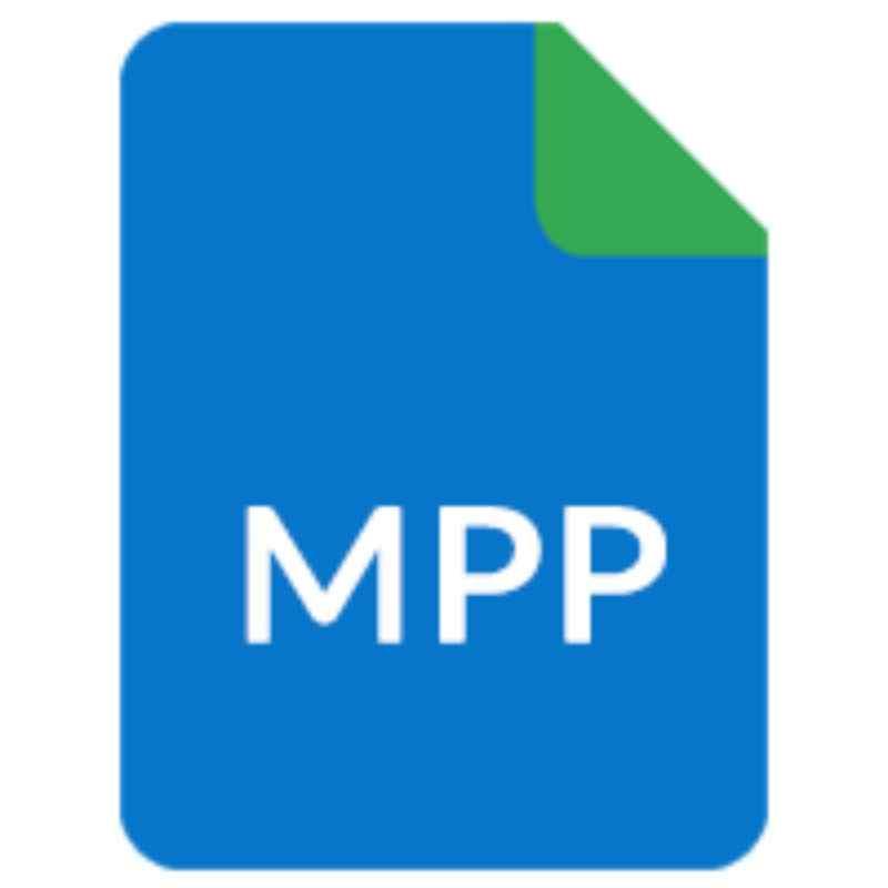 Ícone de arquivos MPP