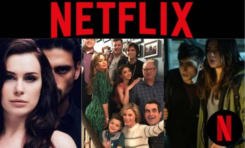 Netflix, pantalla series