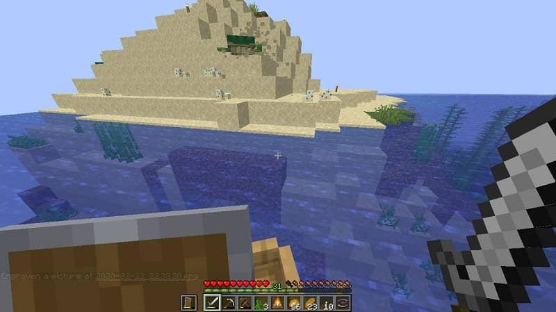Bioma de oceano en Minecraft