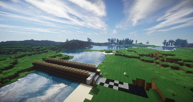 Explore o Minecraft usando um minimapa